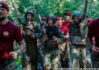 Подготовка и сдача квалификационных испытаний на право ношения Крапового Берета ВССН 2018