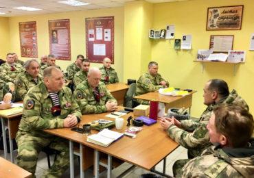 Учебно-методический сбор с руководством ССН ФС ВНГ РФ