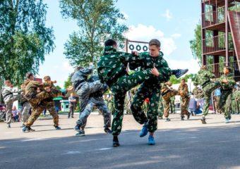 Триатлон специального назначения «Юный спецназовец» 2017