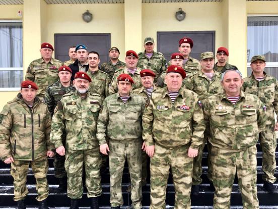 Межрегиональная общественная организация военно-патриотического воспитания «Ветеранский резерв».
