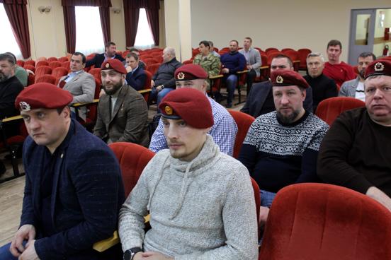 Общее собрание обладателей Крапового берета