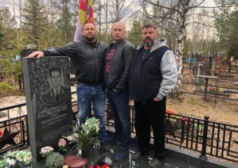 Почтили память спецназовца, ст. лейтенанта Олега Растегаева