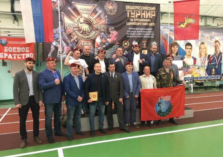 Всероссийский турнир по смешанным единоборствам «ОСЕ» памяти военнослужащих спецназа внутренних войск, погибших в бою под Бамутом