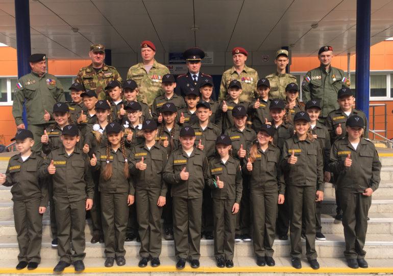 Открытие оборонно-спортивного класса Росгвардии в г. Череповец