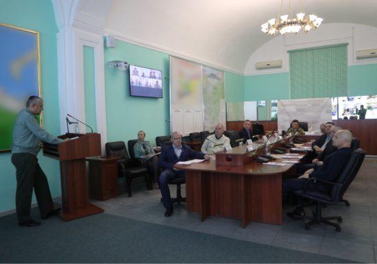 В управлении Северо-Западного округа Росгвардии прошло заседание Совета по военно-патриотическому воспитанию