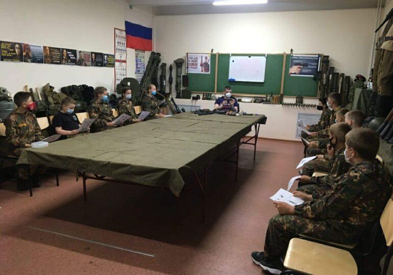 Военно - патриотические сборы для юношей и девушек, г. Череповец