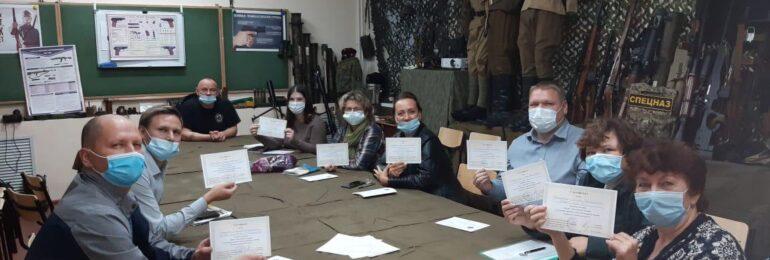 Прошел научно – практический семинар для педагогов преподавателей ОБЖ (г. Череповец)