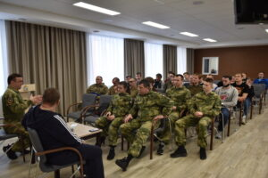 В Курске состоялись учебно-методические сборы руководителей и инструкторов военно-патриотических клубов